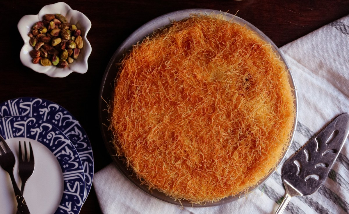 3 Ingredient Cheese Kunafa Dessert Recipe
